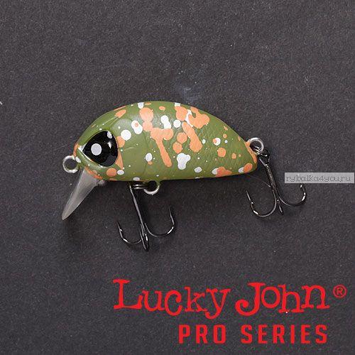 Воблер  LJ Pro Series HAIRA TINY 33LBF цвет 504 / до 1 м Plus Foot