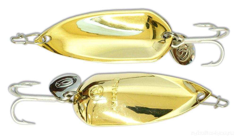 Купить Блесна Kosadaka Grav Spoon 35мм / 6 грамм Gold
