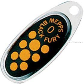 Блесна Mepps Comet Black Fury цвет AG/JN  / №0 / 2.5гр