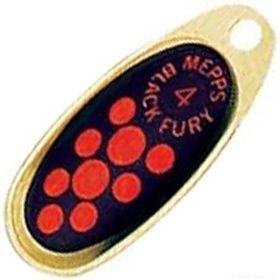 Купить Блесна Mepps Comet Black Fury цвет OR/OR / №2 4.5гр