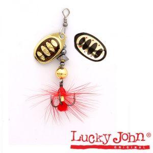 Блесна вращающаяся Lucky John BONNIE BLADE №02 / 4,3гр / цвет: 001