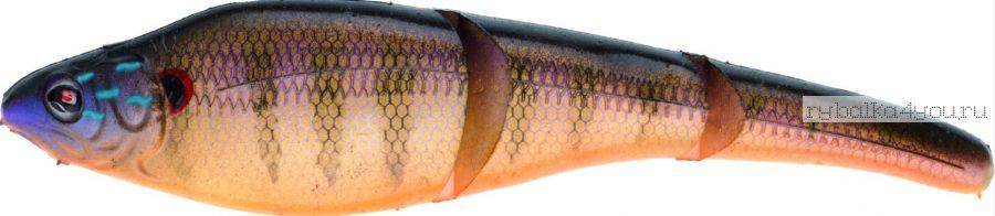 Sebile Magic Swimmer Soft 105мм / цвет SP24/ 10гр (4 приманки + крючок + груза)