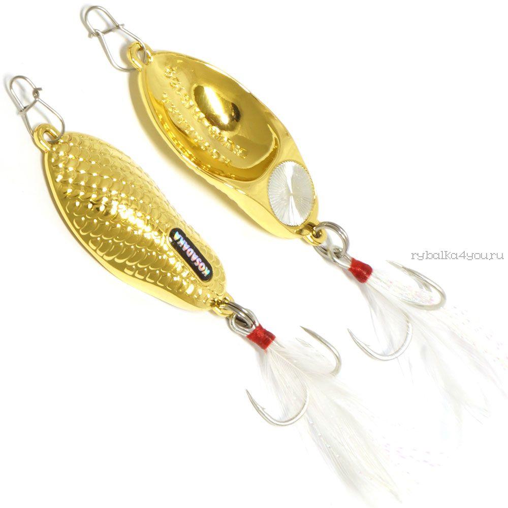 Купить Блесна Kosadaka Evo-RG 55мм / 10 гр цвет: Gold