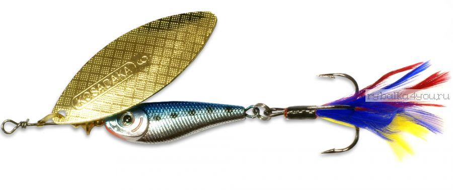 Блесна Kosadaka Quant №4 17гр / цвет BT-Gold