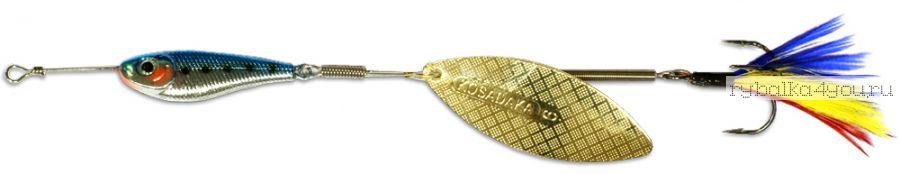 Блесна Kosadaka Quant V2 №1 6гр / цвет BT-Gold