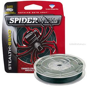Леска плетеная Spiderwire Stealth Braid 137 м желтая