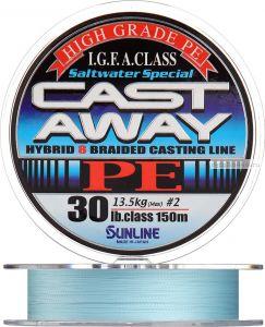 Плетеная леска SUNLINE Cast Away PE HG 150м
