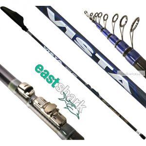 Удочка с кольцами EastShark Vista 700 ( 7 метров, 10-45гр)