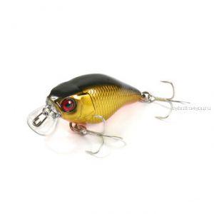 Воблер Jackall Chubby 38 Silent 38 мм / 3,9 гр / плавающий / цвет: gold & black