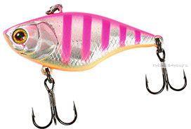 Воблер Jackall Chubby Vibration 40 мм / 4,8 гр / плавающий / цвет:  pink zebra