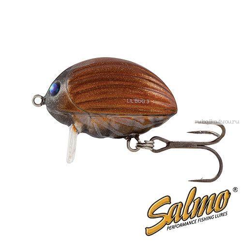 Воблер Salmo Lil Bug F 02-MBG/ 20 мм / плавающий / 2.8 гр / до 0,3 м / цвет: MBG