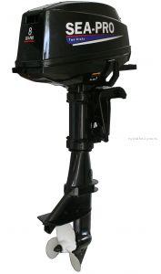 Подвесной лодочный мотор 2-х тактный SEA-PRO T8S / 8 л.с. / 27 кг.
