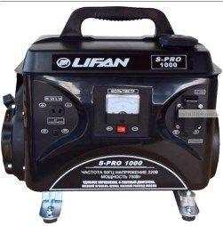 Генератор бензиновый  LiFAN S-PRO  SP1000