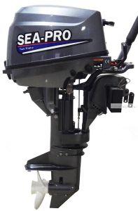 Подвесной лодочный мотор 4-х тактный SEA-PRO F 9.8S 9,8 л.с. / 37 кг.