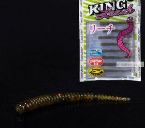 Слаг Lucky John Pro Series King Leech 50 мм / упаковка 9 шт / цвет РА03