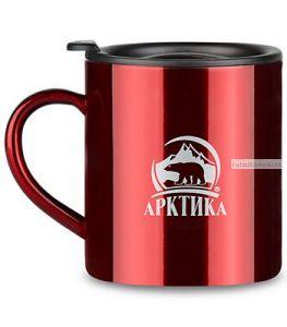 """Термокружка """"Арктика"""" 802-450 (450мл) красная"""