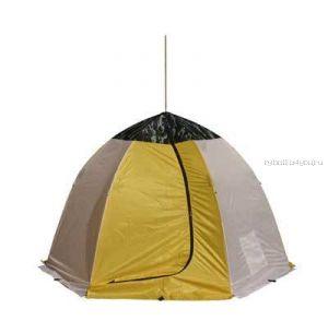 Палатка-зонт без дна Классика 3-х мест. (брезент)(СТЭК - 03067)