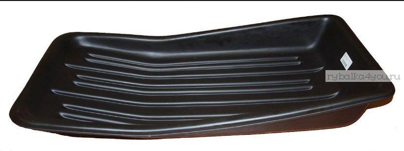Сани рыбацкие (пласт. корыто) № 5/2 850х450х220 черный (арт.43555)