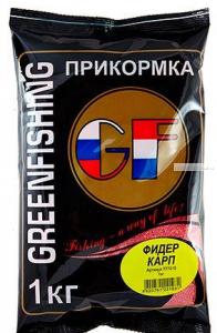 Прикормка Greenfishing GF Фидер Карп 1кг