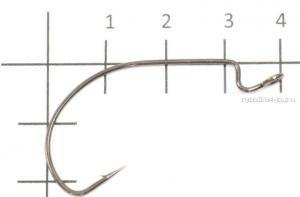 Крючок офсетный Yoshi Onyx Offset Hook Long  (BN), BIG EYE WITH SPRING, с пружинкой (упак. 5шт.)