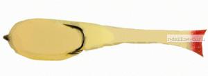 Поролоновая рыбка OnlySpin Bait 95 мм / упаковка 5 шт / цвет: белый