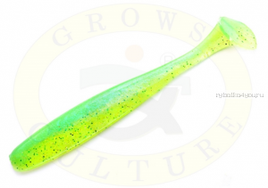 "Виброхвост Grows Culture Diamond Easy Shiner 4"" 10 см/ упаковка 7 шт/ цвет: 424"