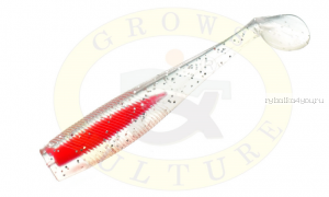 "Виброхвост Grows Culture B6LAB New Shiner 3"" 7,5 см/ упаковка 5 шт/ цвет: 002"