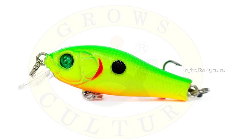 Купить Воблер Grows Culture Laker GC-1173B 35F 35мм/ 2 гр/заглубление: 0,3-0,8м/ цвет: Q3