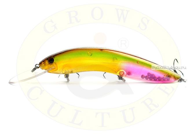 Купить Воблер Grows Culture Flathead 90 F мм/ 10 гр/заглубление: 1 - 3 м/ цвет: Q20