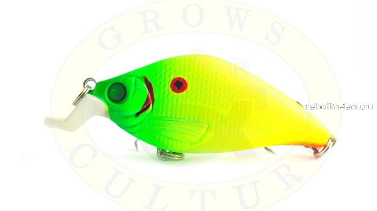 Купить Воблер Grows Culture Laker 52F 52 мм/ 7,5 гр/заглубление: 0,1 - 0,5 м/ цвет: Q5