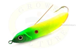 Блесна незацепляйка Grows Culture Minnow Spoon 6019 60мм / 10 гр / заглубление: 0,1 - 0,5м/ цвет: 007