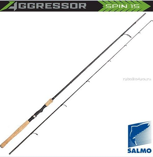 Спиннинг Salmo Aggressor SPIN 25  2,40м /тест 5-25гр (5212-240)