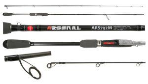 Спиннинг Aiko Arsenal ARS792M 236 см 7-28 гр