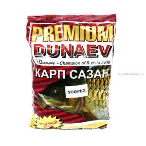 Прикормка Dunaev Premium  1кг Карп-Сазан (Scopex)
