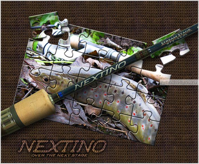 Спиннинг  Major Craft Nextino Stream Category NTS-662L 1.99м / тест 2-10гр