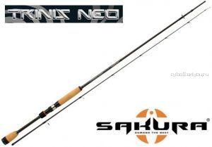 Спиннинг Sakura  Trinis Neo Spin TNS 6' X 2 UL (длина 183 см тест 0.9-5 гр)