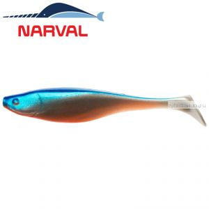 Мягкие приманки Narval Commander Shad 12sm #001 Blue Back Shiner (4 шт в уп)
