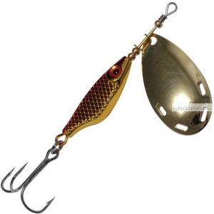 Блесна Extreme Fishing Obsolute Obsession №2 / 9 гр / цвет:  11-G/Red/G