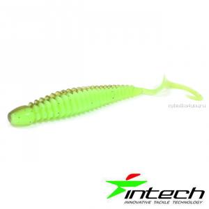 "Мягкая приманка Intech Turborib 3"" / упаковка 7шт / цвет: IN72/  7,5 см"