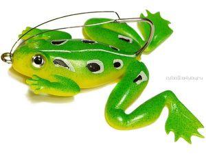 Незацепляйка Kosadaka мягкая оснащ. тонущая Лягушка с лапами LF27 50мм/ 10гр / цвет: С76