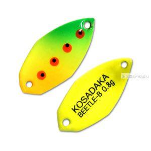 Блесна Kosadaka Trout Police Beetle-B 0,8гр / 21мм / цвет: D05