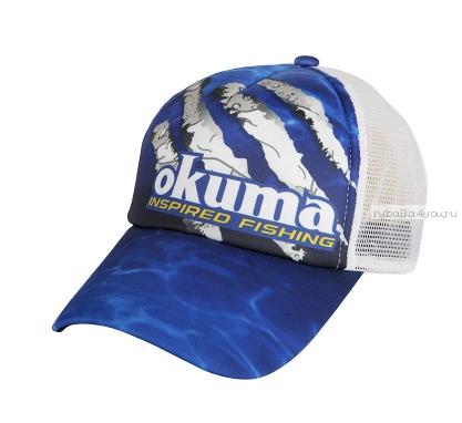 Купить Кепка Okuma Blue Mesh Black